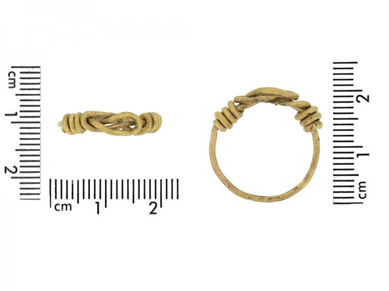 size ancient gold viking ring berganza hatton garden