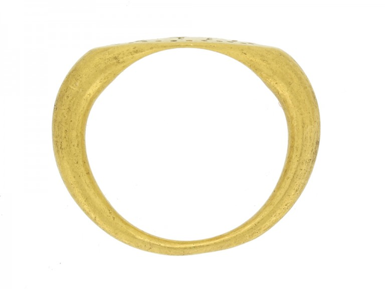 Ancient Greek gold ring