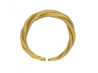 Viking gold penannular ring, circa 9th   11th century.
