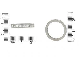 size view Tiffany & Co. diamond eternity ring, circa 1930.
