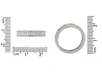 size view Diamond eternity ring, circa 1950s.