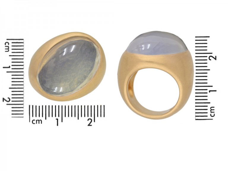 Pomellato moonstone ring berganza hatton garden