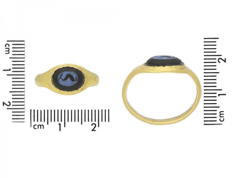 Ancient Roman intaglio ring berganza hatton garden