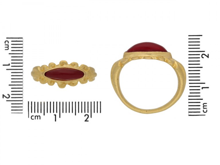 Ancient Roman gold ring berganza hatton garden