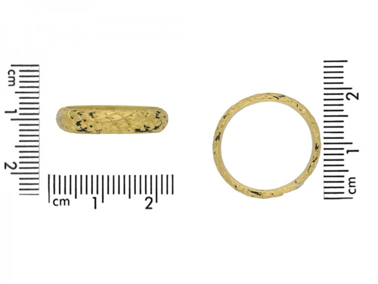 Post Medieval memorial ring berganza hatton garden