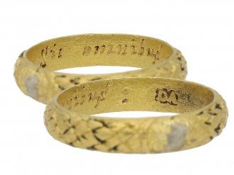 Post Medieval memorial ring berganza hatton garden