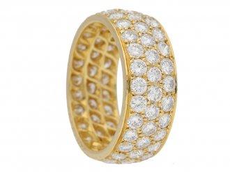Van Cleef & Arpels diamond ring berganza hatton garden