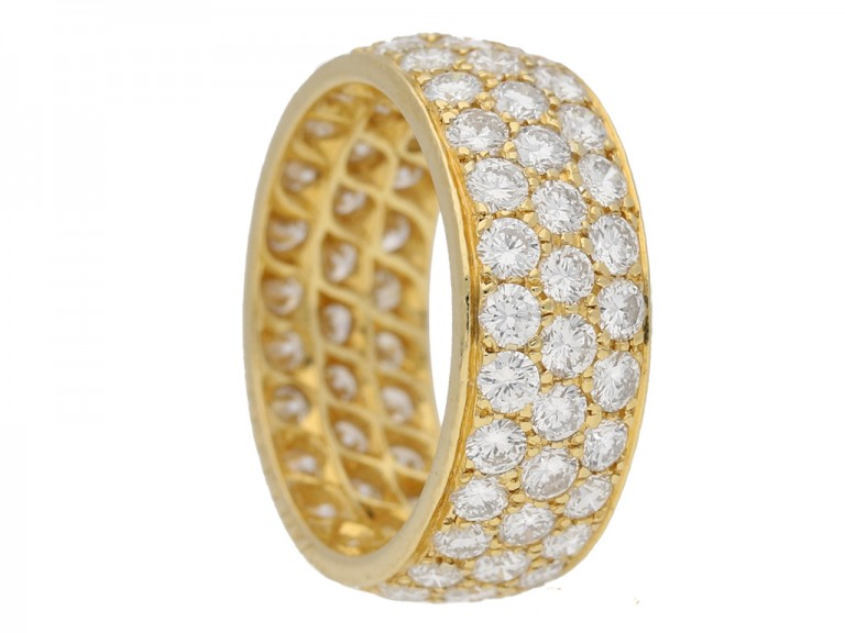Van Cleef & Arpels diamond ring berganza hatton garden