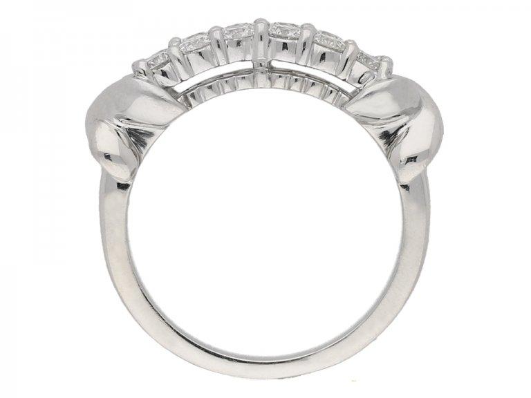Diamond ring Oscar Heyman Bros berganza hatton garden