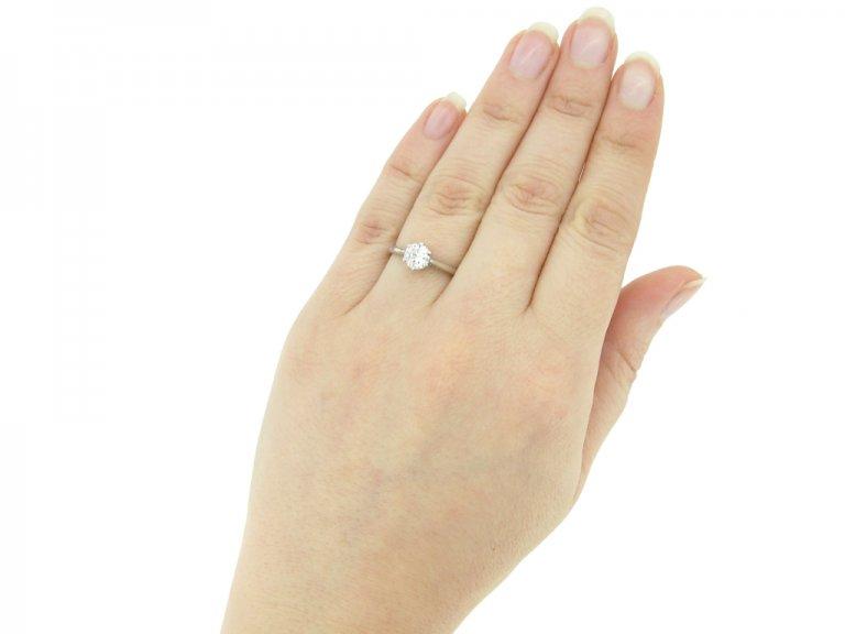 vintage diamond ring berganza hatton garden