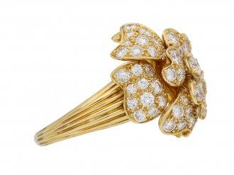Van Cleef Arpels diamond ring hatton garden berganza