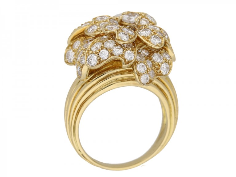 Van Cleef Arpels diamond ring hatton garden berganza
