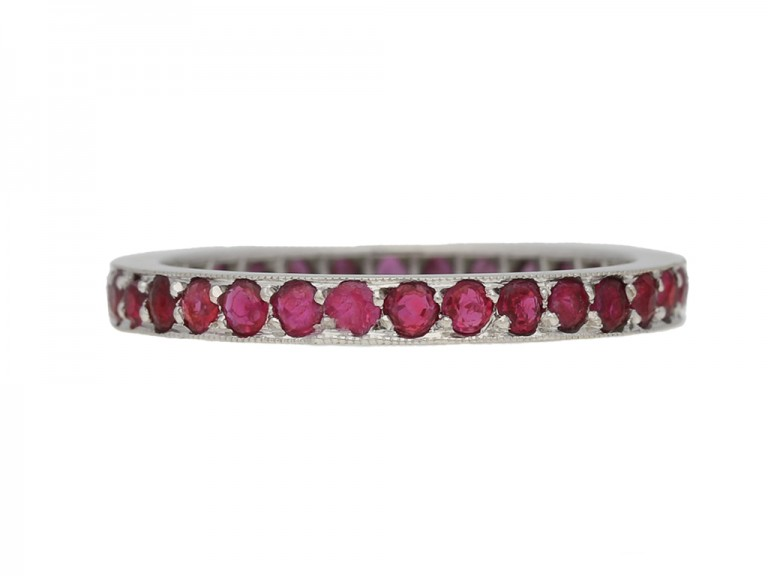 Antique ruby ring berganza hatton garden