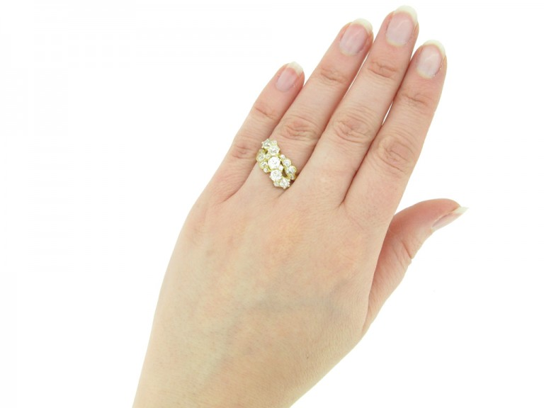 Antique diamond ring hatton garden berganza