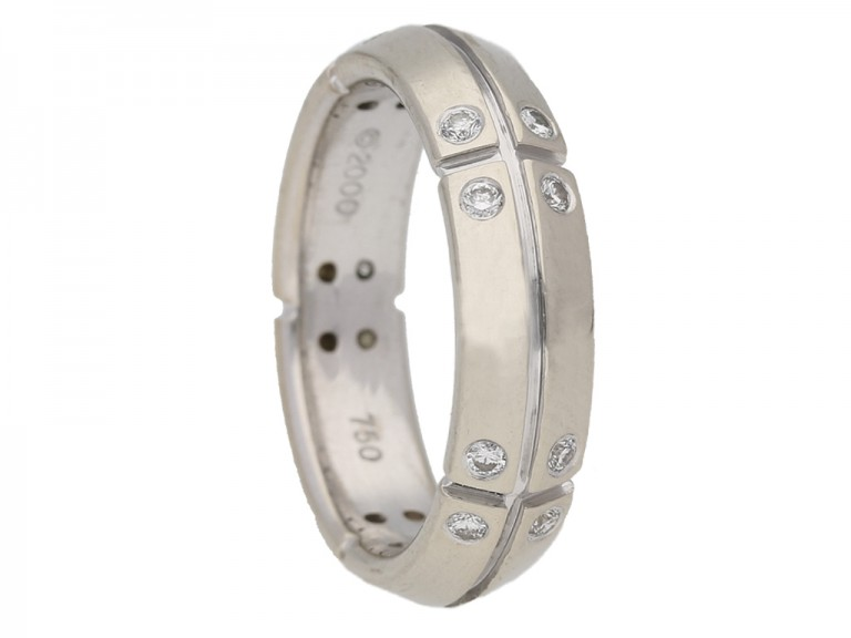 Tiffany Co Streamerica ring berganza hatton garden