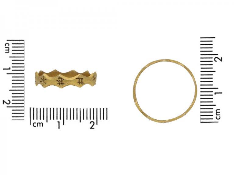 Medieval EN BON AN ring berganza hatton garden