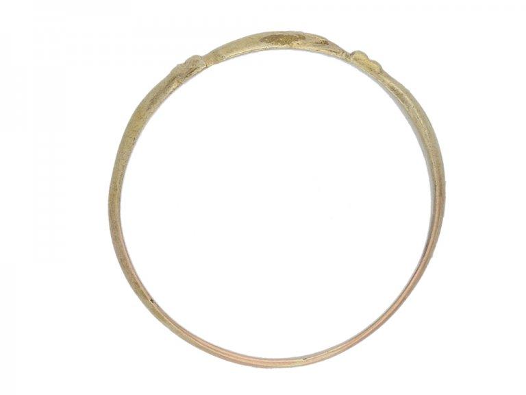 Medieval clasp hands betrothal ring berganza hatton garden