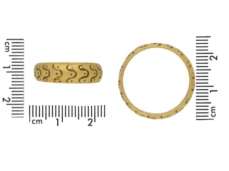 Medieval amuletic ring berganza hatton garden
