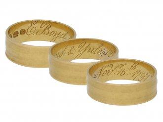 antique marriage ring berganza hatton garden