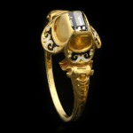 Tudor table cut diamond ring, circa 1485-1603.