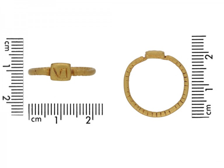 Ancient Roman gold military ring berganza hatton garden Ancient Roman gold military ring berganza hatton garden