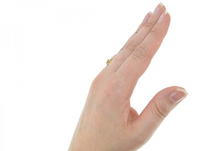 Medieval gold ruby ring berganza hatton garden