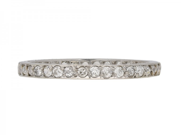 antique eternity diamond ring berganza hatton garden