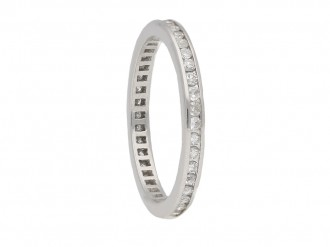 vintage diamond eternity ring berganza hatton garden