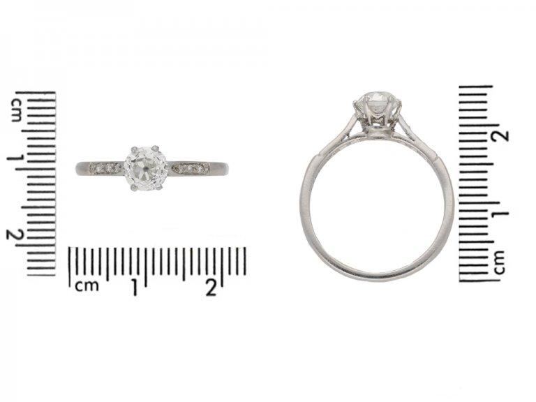 ntique diamond engagement ring berganza hatton garden