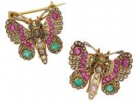 antique butterfly brooches hatton garden berganza