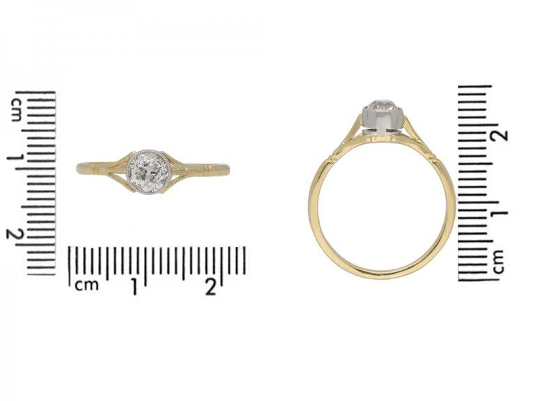 antique engagement diamond ring hatton garden berganza