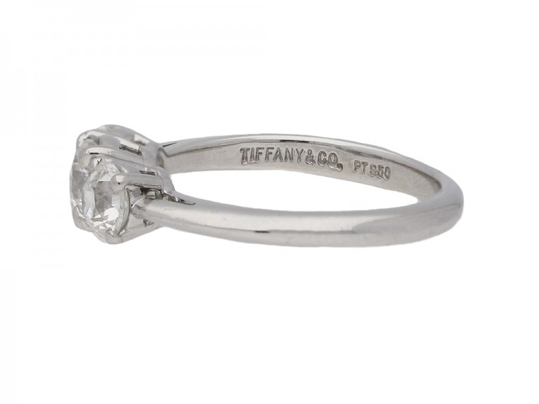tiffany diamond 3 stone ring berganza hatton garden