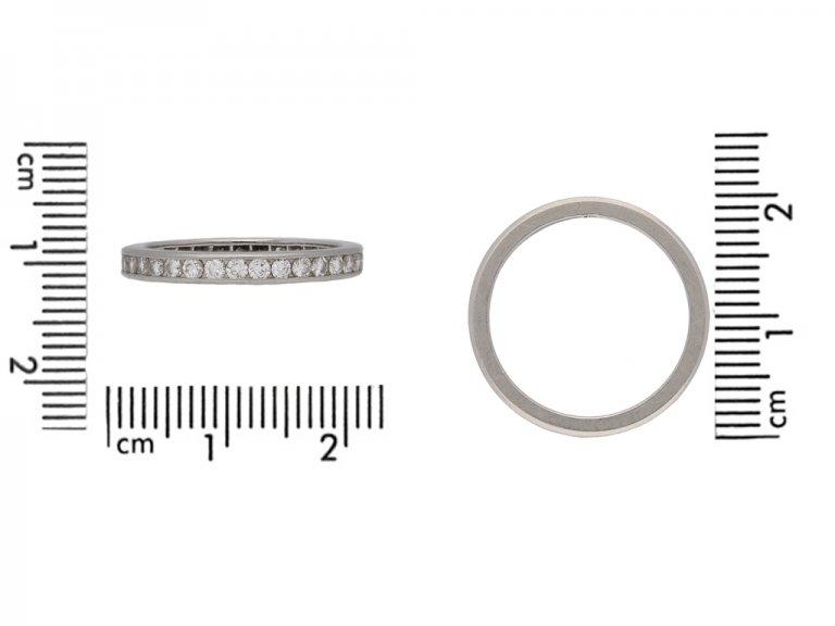 Tiffany diamond eternity ring berganza hatton garden