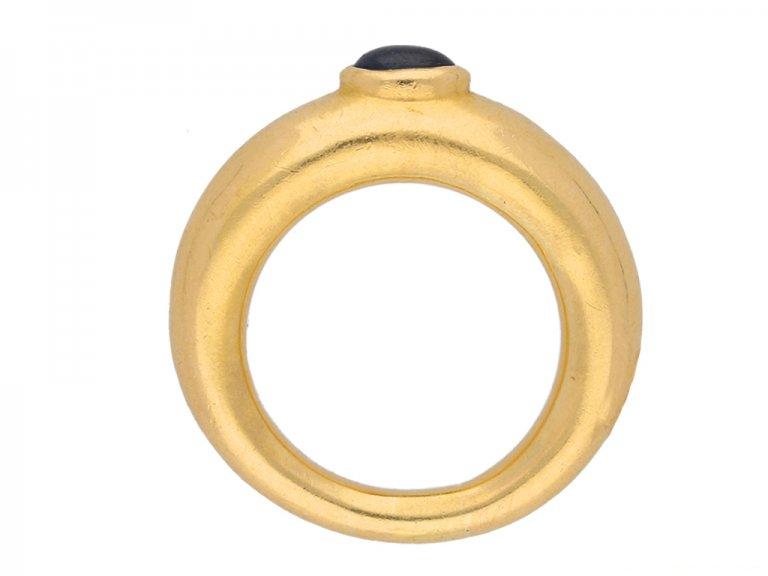 Chaumet sapphire ring hatton garden berganza