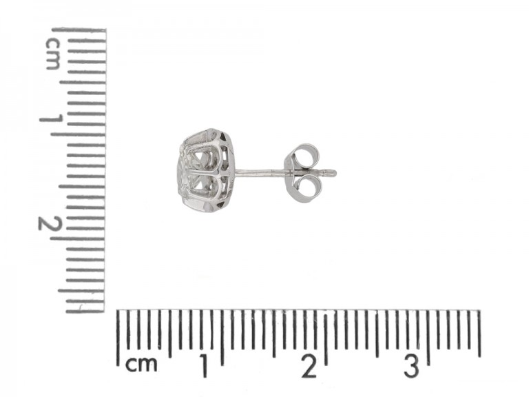 art deco diamond earrings berganza hatton garden