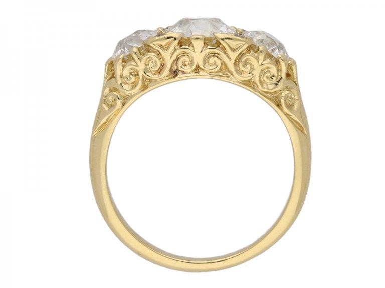 antique diamond carved ring berganza hatton garden