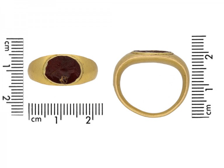 ancient roman intagilo ring berganza hatton garden