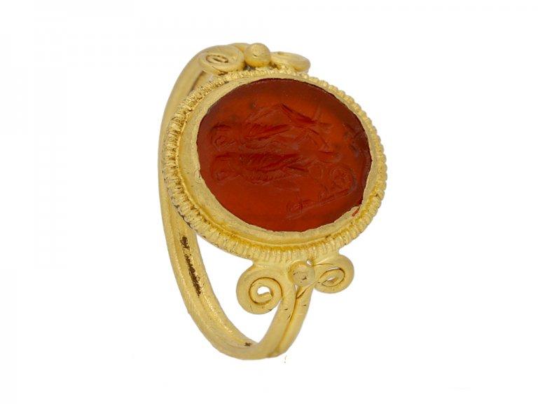 ancient roman ring berganza hatton garden