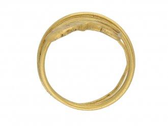 Ancient Egyptian snake ring berganza hatton garden