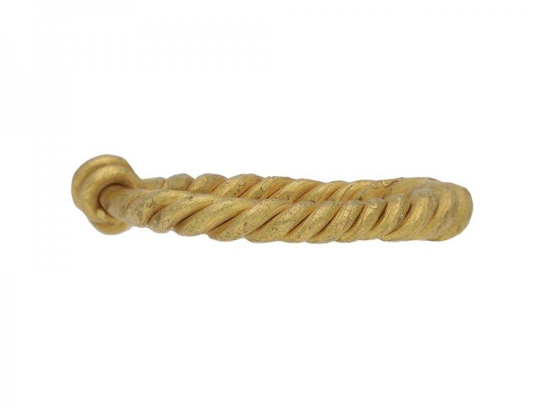 viking gold twisted ring berganza hatton garden
