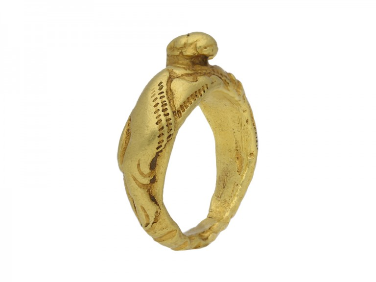 ancient norman gold lion ring berganza hatton garden
