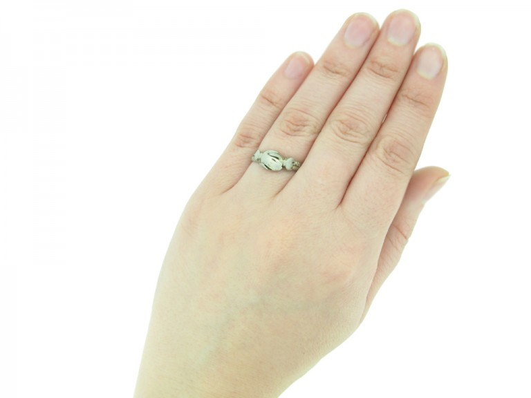 Medieval silver gimmel ring berganza hatton garden