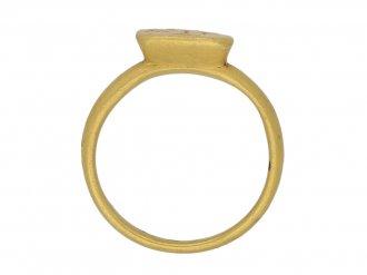 Byzantine gold ring berganza hatton garden