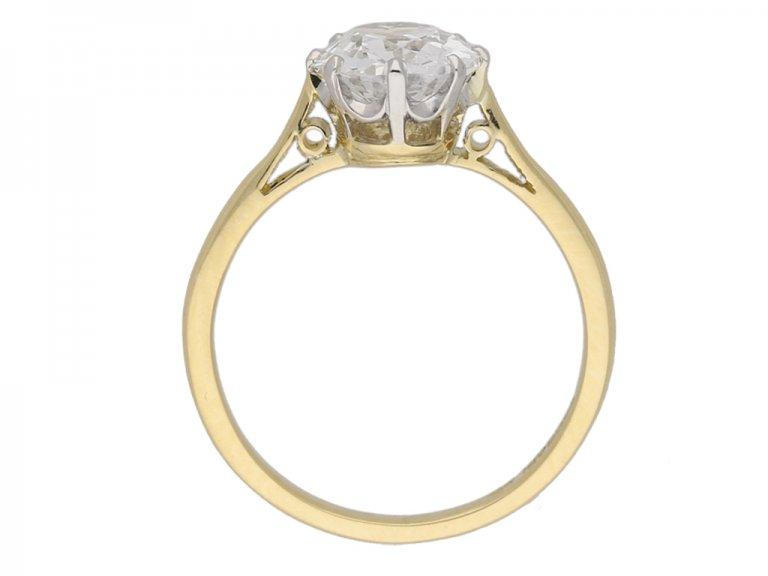 antique diamond ring berganza hatton garden