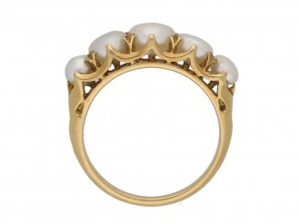 antique natural pearl ring berganza hatton garden