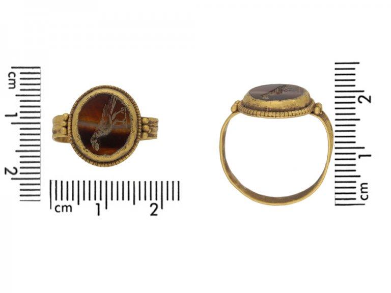 ancient roman itaglio ring berganza hatton garden