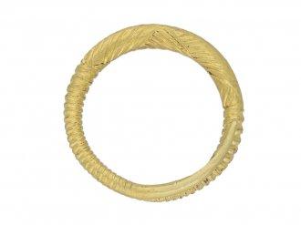 Ancient Celtic patterned ring berganza hatton garden