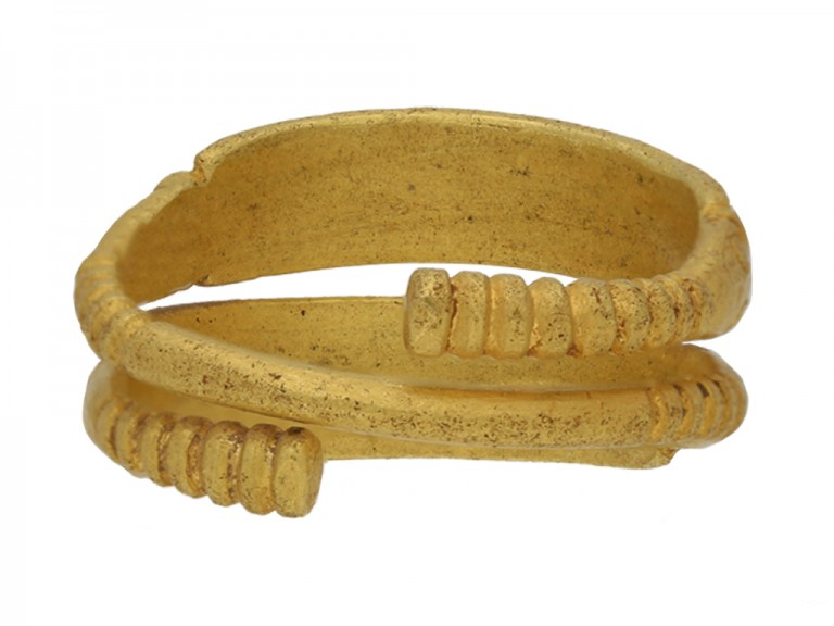Pre Viking gold ring berganza hatton garden