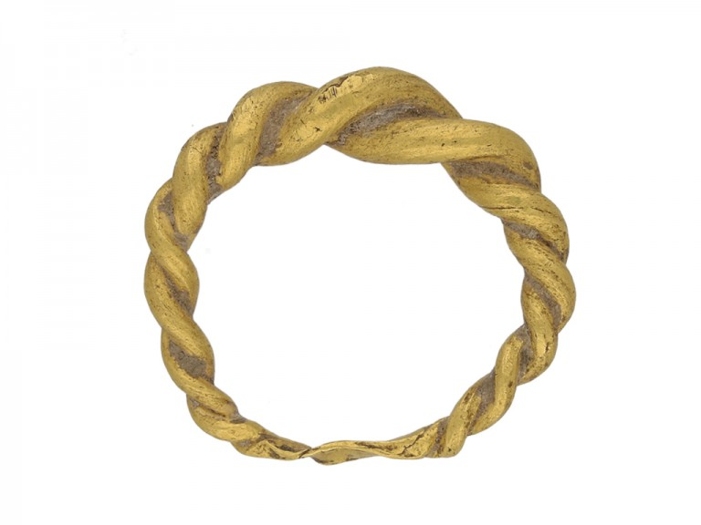 ancient viking gold ring berganza hatton garden