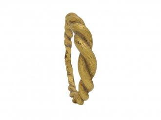 front ancient viking gold ring berganza hatton garden